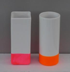 Drainpipe vases