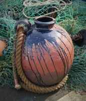 Taz Pollard Over the Breakwater Ceramics Rope Copper 59 x 38cm 2 (1)